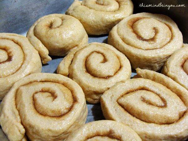 Whole Wheat Cinnamon Rolls by Kristi Stone