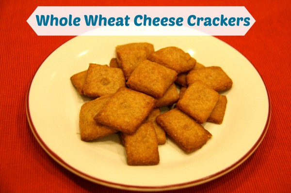 Whole Wheat Cheese Crackers | Grain Mill Wagon