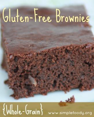 Gluten-Free Brownies {whole-grain}