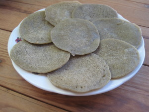 Gluten Free Wild Rice Tortillas