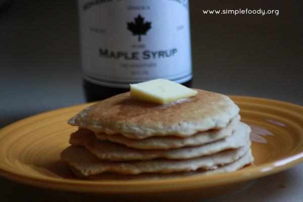 Pumpkin pie spice pancakes (1)