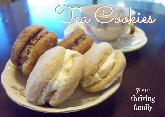 Tea Cookies {Melt in Your Mouth}