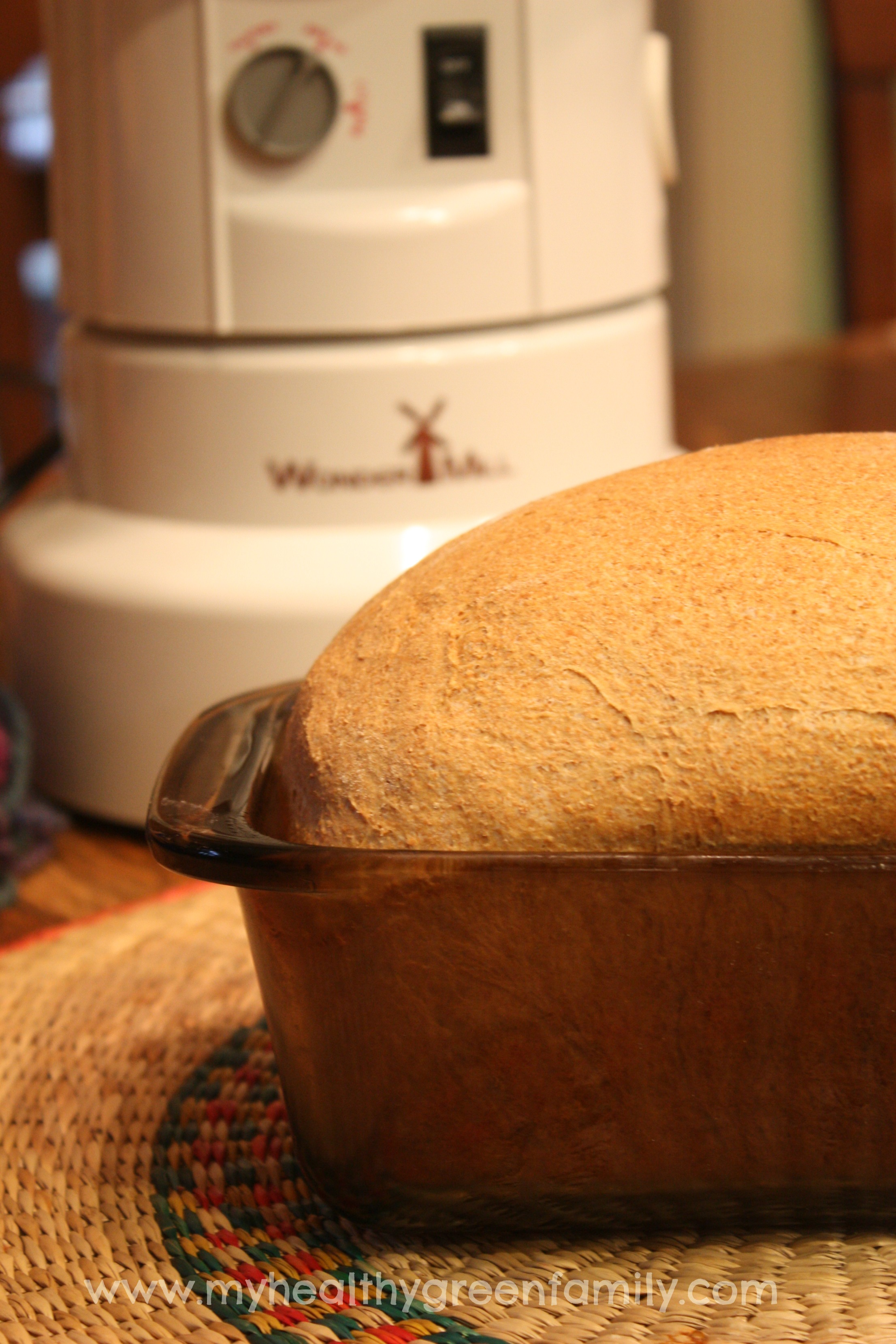 100% Whole Wheat Honey Bread. Simply, The Best! | Grain Mill Wagon