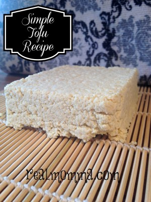 Tofu Made With Soy Flour