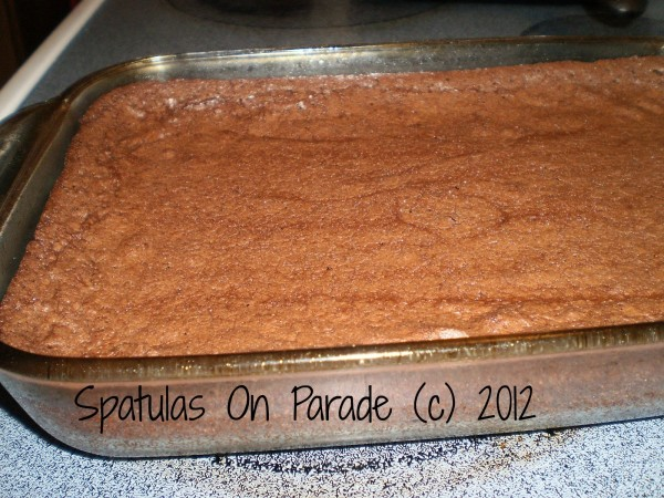 Soft coffee brownies from Spatulas On Parade