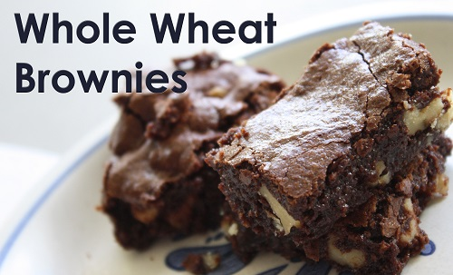 whole wheat brownie recipe