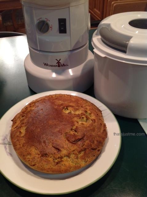 Skillet Corn Quinoa Bread | Grain Mill Wagon