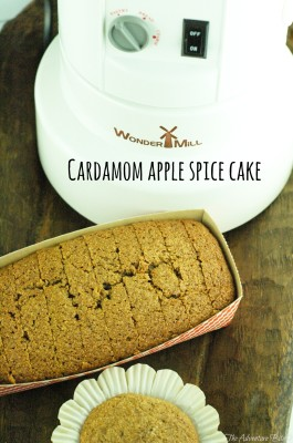 Cardamom Apple Spice Cake
