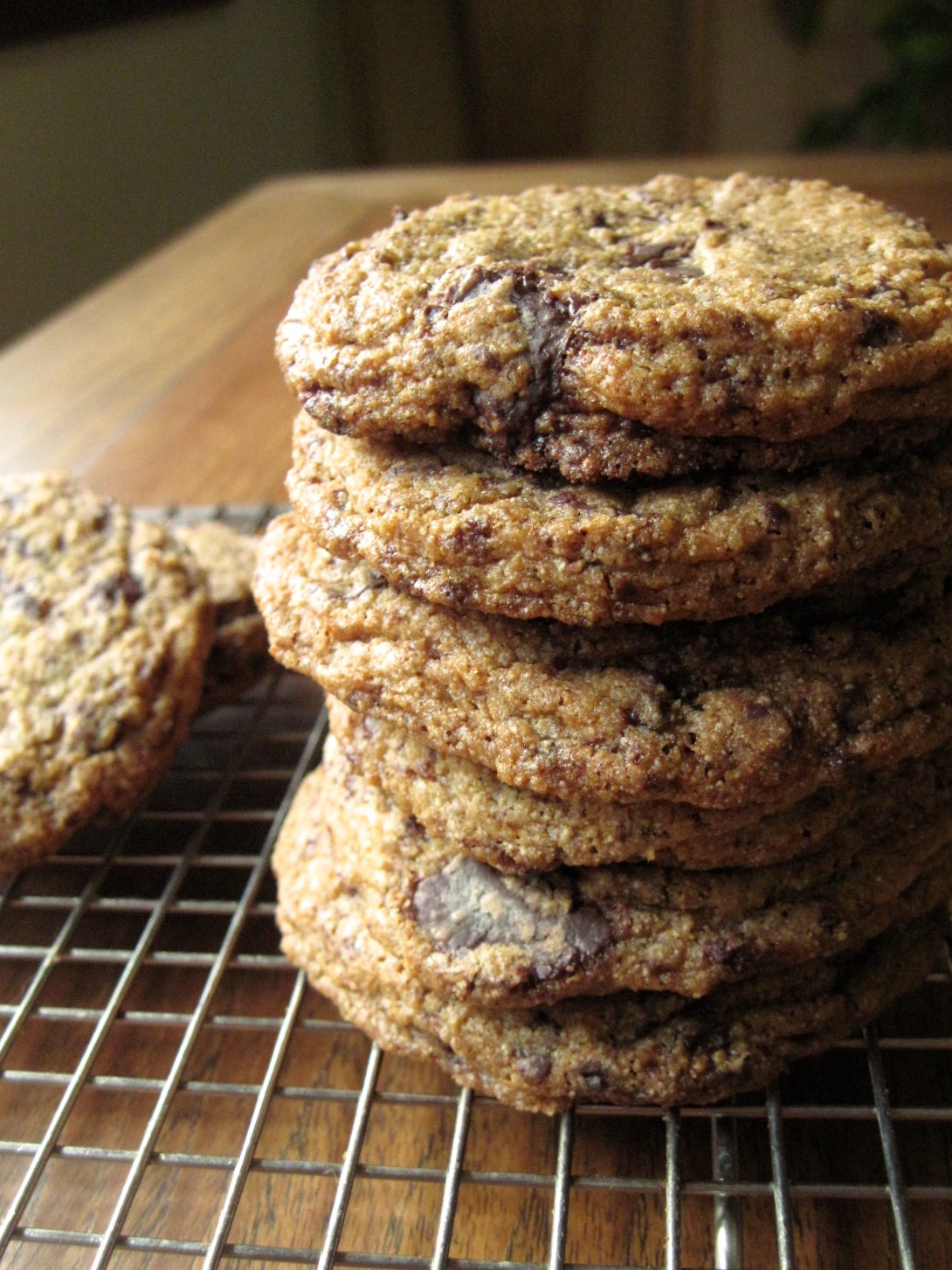 100% Whole Wheat Chocolate Chip Cookies | Grain Mill Wagon