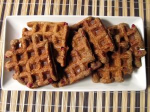 triticale waffles