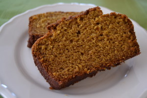 Whole Grain Pumpkin Quick Bread