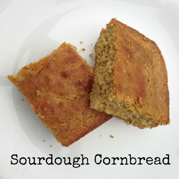 Sourdough Cornbread from the Grain Mill Wagon, by Kristen @ Smithspirations