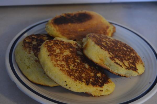 Simple Corn Cakes