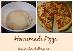 Homemade Pizza from Homemakers Challenge at the Grain Mill Wagon