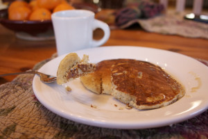 Whole Grain Buttermilk Pancakes-2- Simple Living and Eating