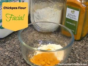 Chickpea Flour Facial