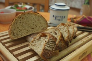 Whole Wheat Sour Dough Bread