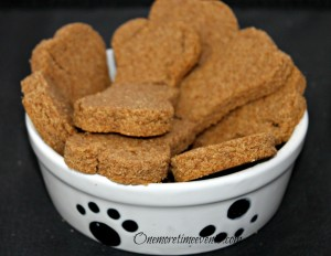 Whole Wheat Peanut Butter Dog Treats