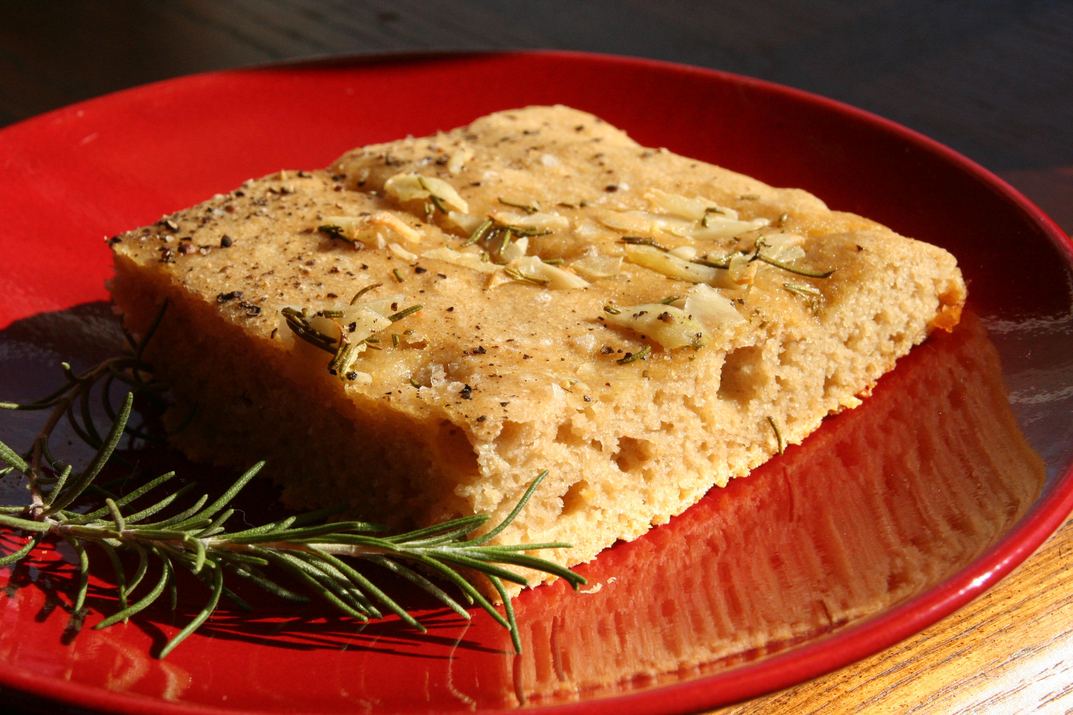 Fresh Kamut Flour Focaccia: A Dead Simple No Knead Bread
