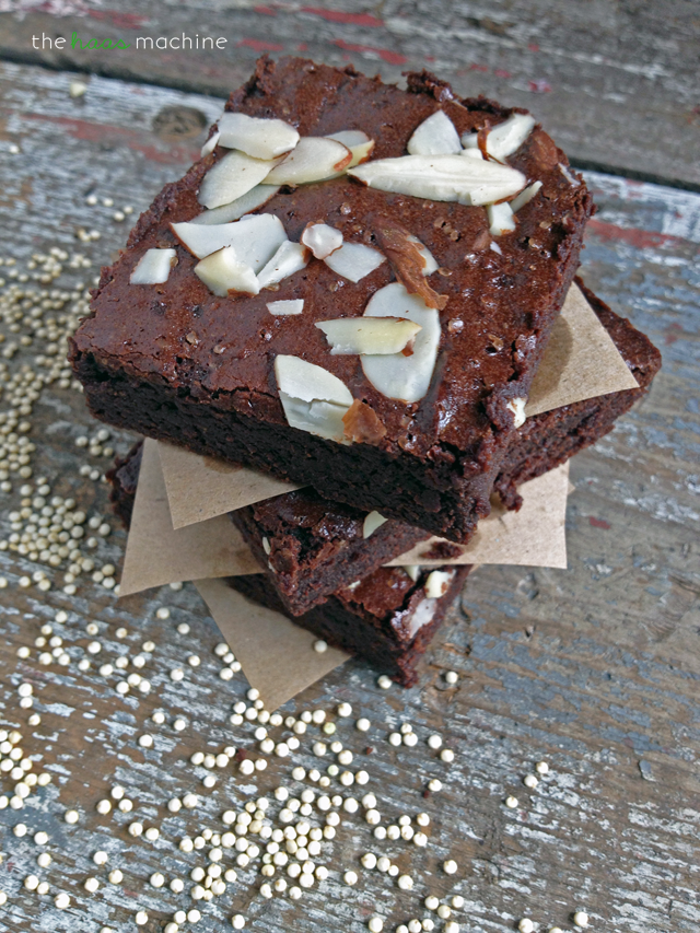 Quinoa Flour Brownies4