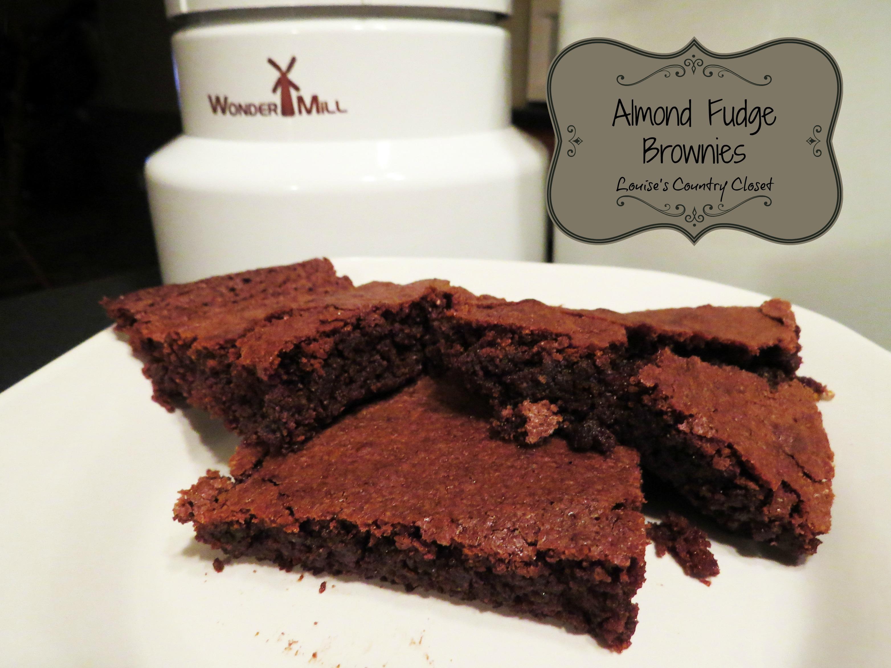 Louise's Almond Fudge Brownies