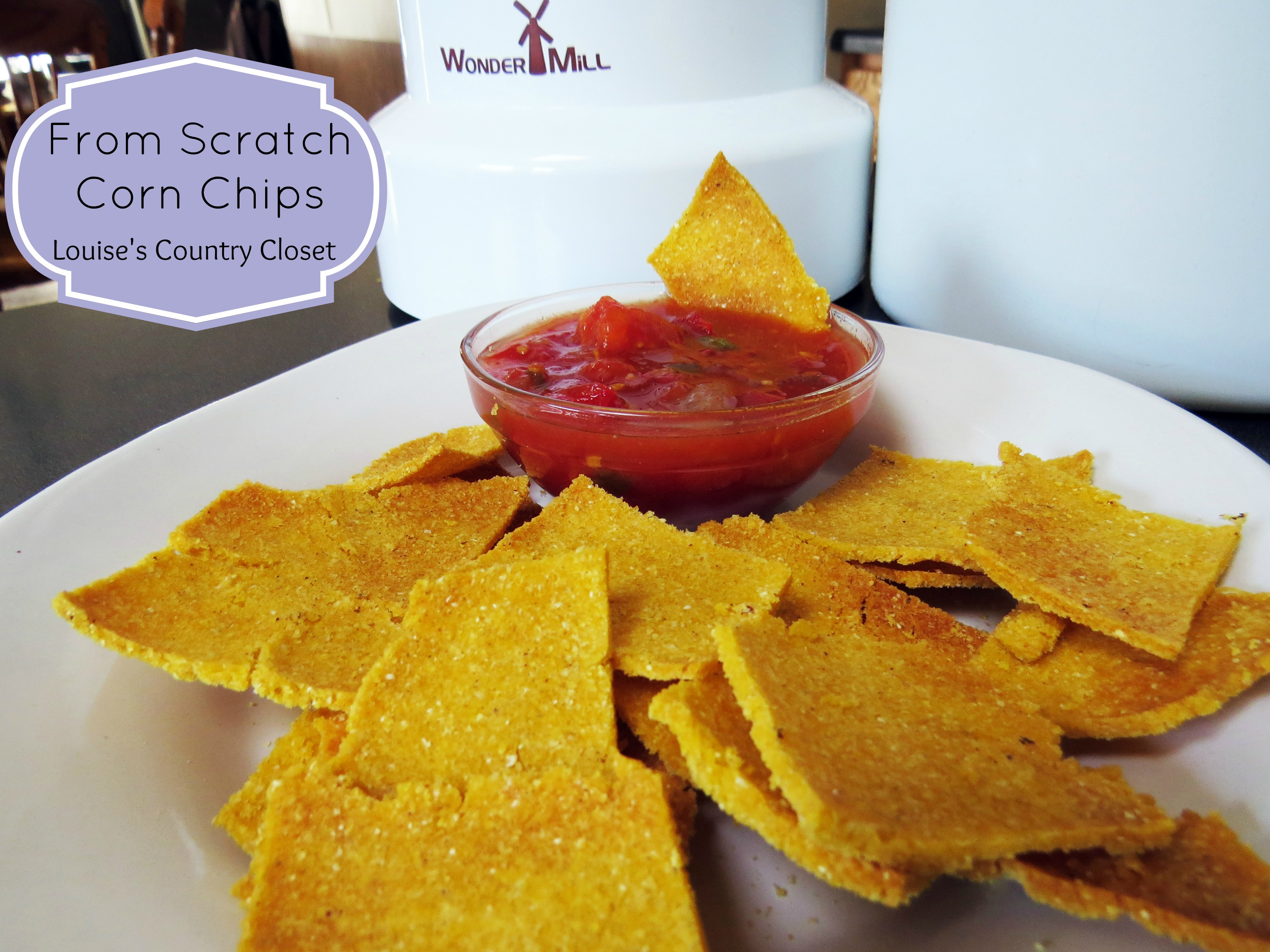 From Scratch Corn Chips