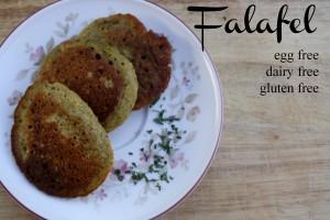 Falafel {egg free}