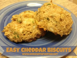 Easy Cheddar Drop Biscuits