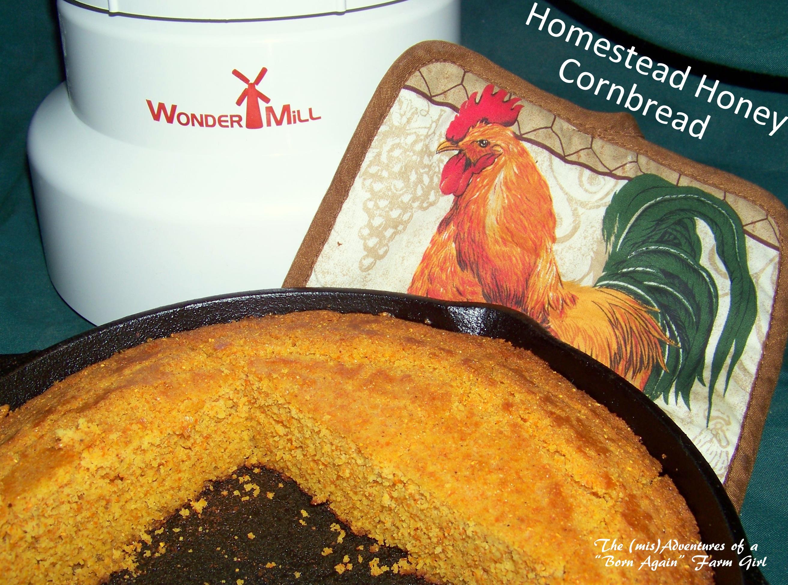 Homestead Honey Cornbread