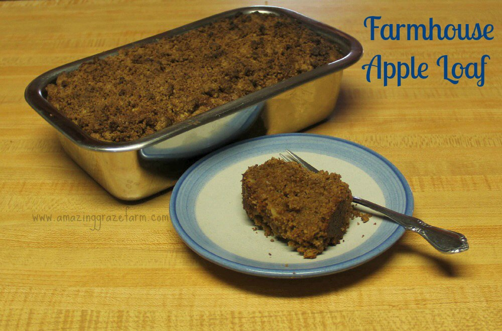 Recipe for Farmhouse Apple Loaf