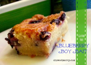 Blueberry Boy Bait {Gluten Free}