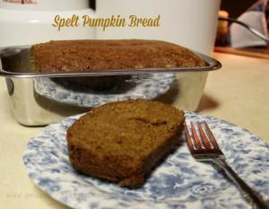 Spelt Pumpkin Bread