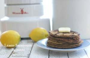 Lemon Sourdough Pancakes