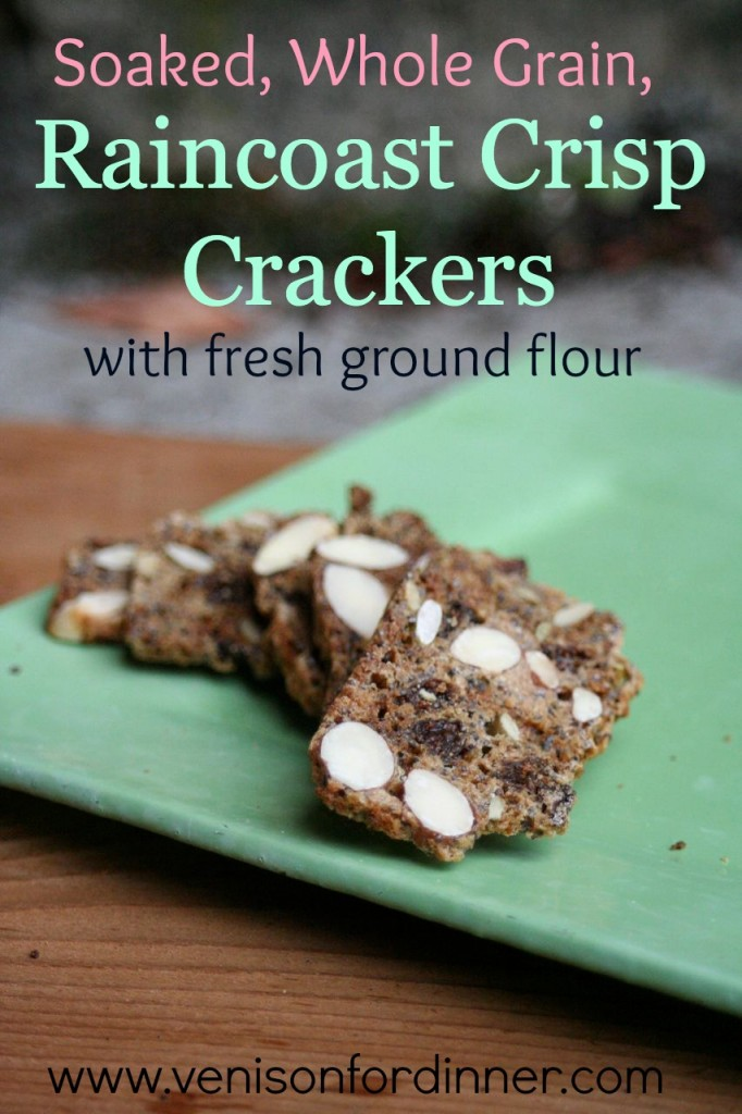 Soaked, Whole Grain, Raincoast Crisp Crackers