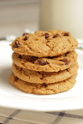 Live Simply Whole Wheat Chocolate Chip Cookies