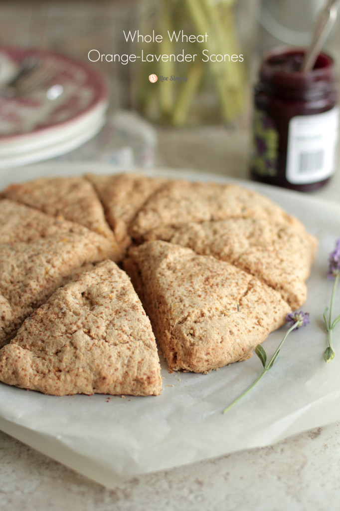 Live Simply Whole Wheat Scones