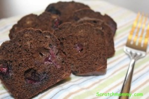 Scratch Mommy Carob Quinoa Loaves