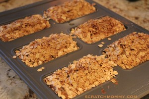 Scratch Mommy Blueberry Quinoa Mini Loaves