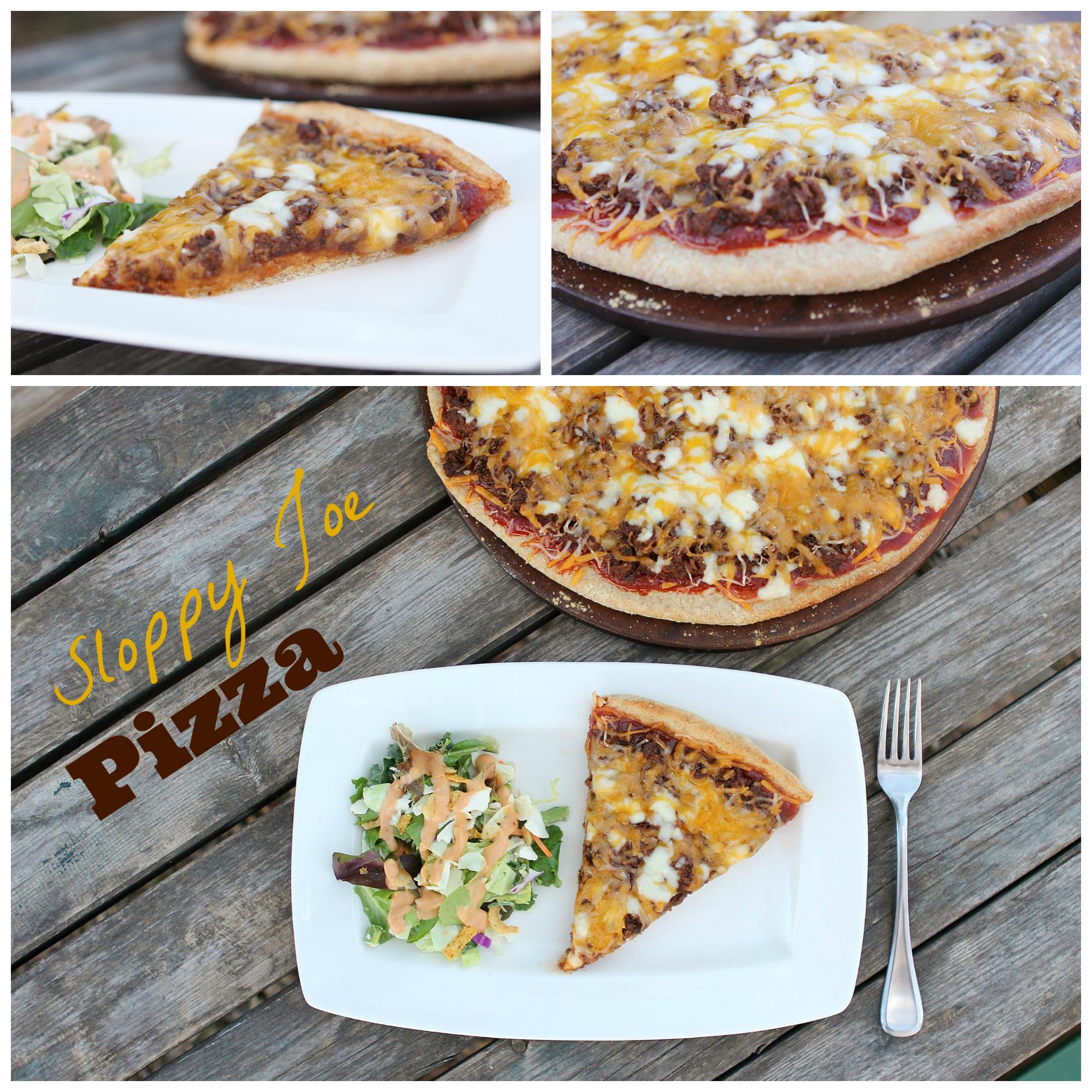 Sloppy Joe Pizza