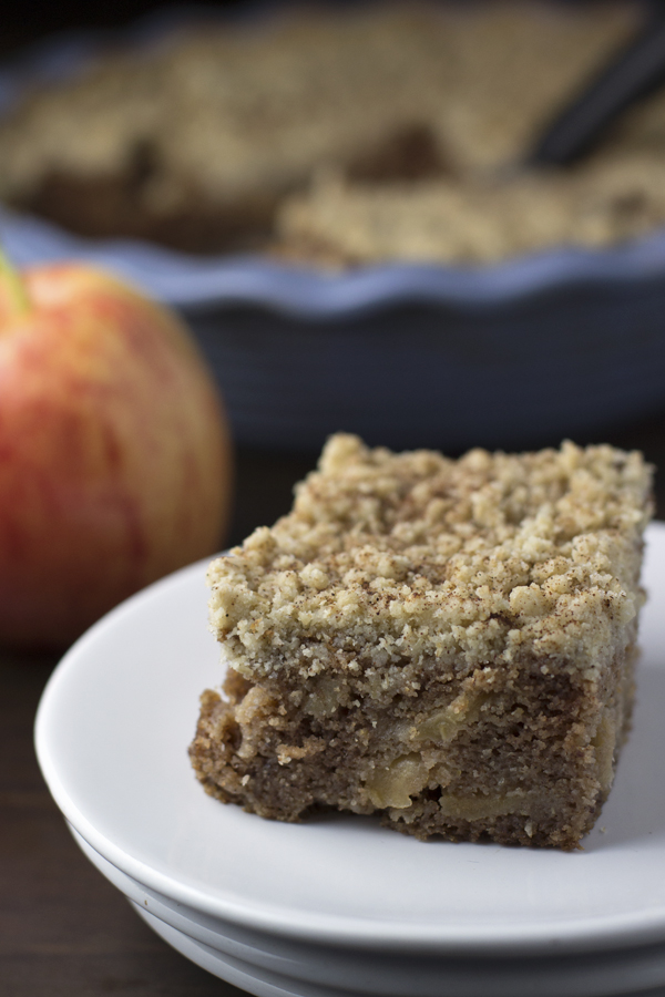 Allergy Free Apple Spice Coffee Cake