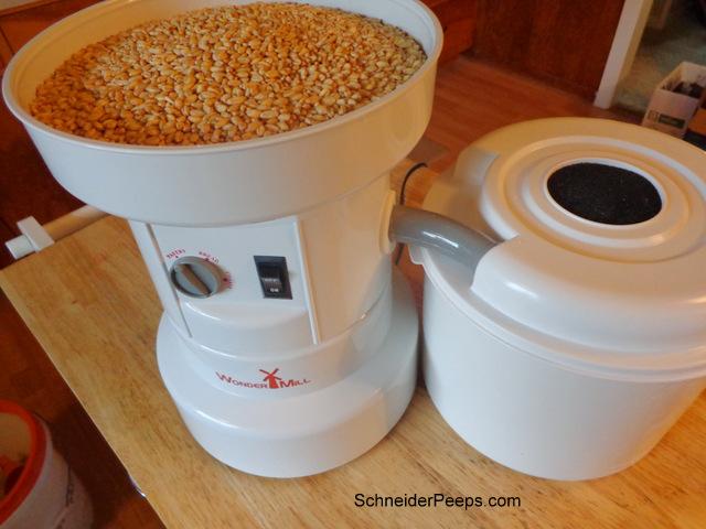 SchneiderPeeps - Grain Mill Challenge