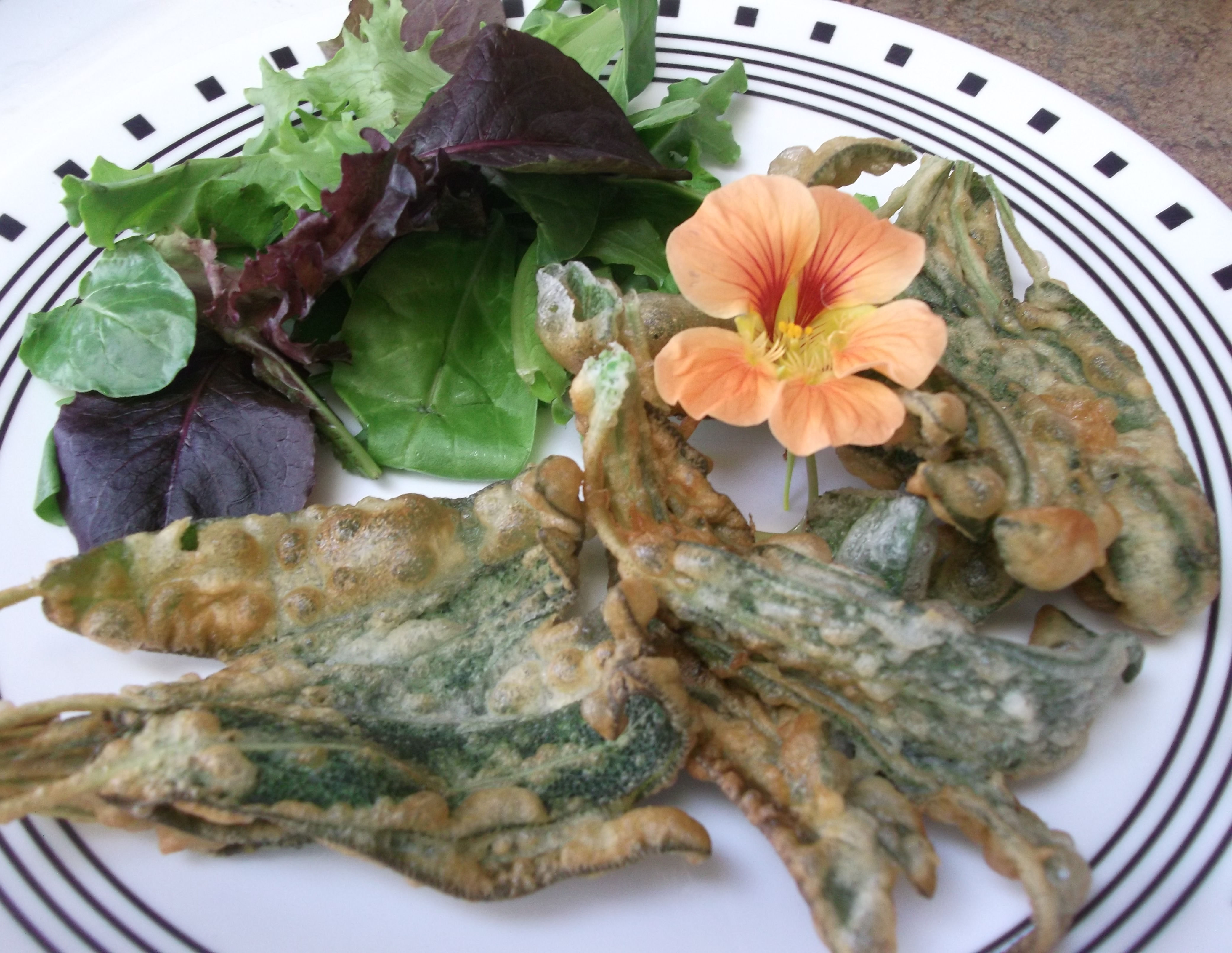 Sage Fritters (Fried Sage Leaves)