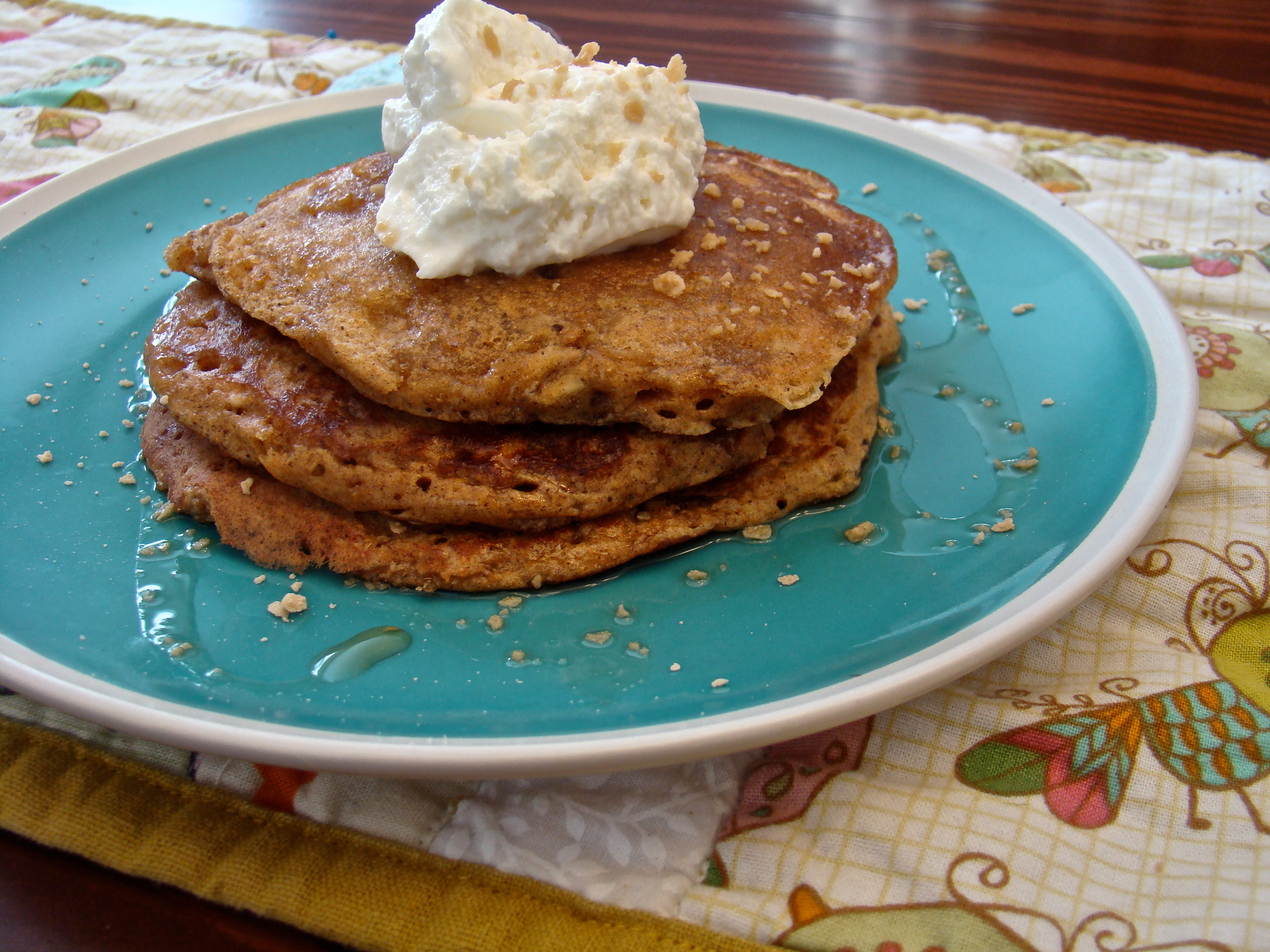 Fall Spice Pancakes