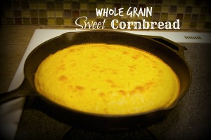 Whole Grain Sweet Cornbread