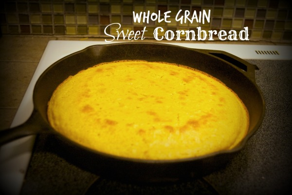 Freshly Ground Sweet Cornbread