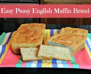 Easy Peasy English Muffin Bread