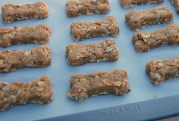 """""""Peanutty"""" Homemade Dog Biscuits"""