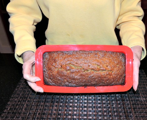 Banana Bread from Oven