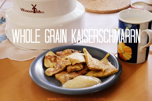 Whole Wheat Kaiserschmarrn