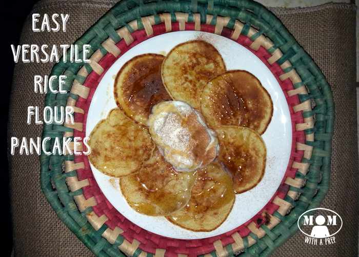 Easy and Versatile Rice Flour Pancakes from Momwithaprep.com